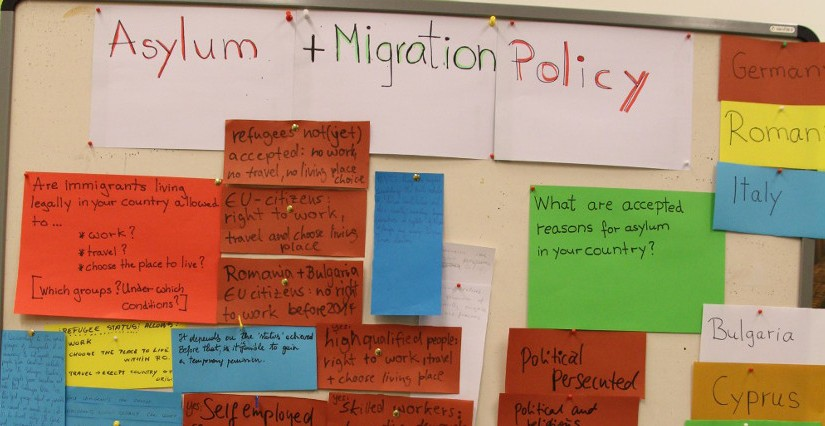 "Programme ""Dealing with Migration"", 23.11. – 03.12.2015"