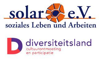 Logos solar e.V. und Stichting Diversiteitsland