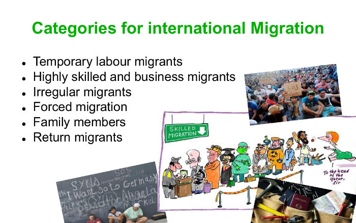 Definitions of migration