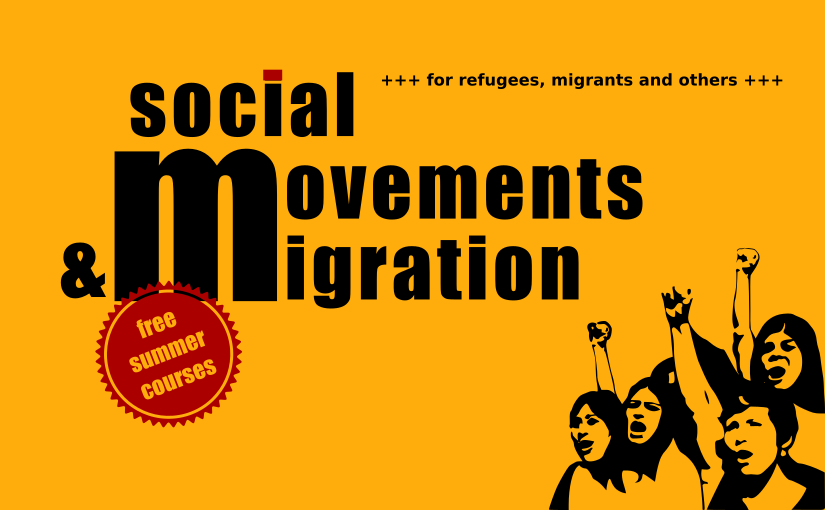 "Interim project Solar eV – Open summer courses for refugees & migrants: ""Social Movements & Migration"""