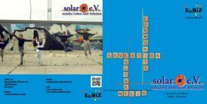 solar e.V. Infoflyer Seite 1