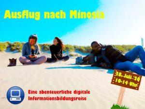 Ausflug nach Minosia @ Die Veranstaltung wird digital stattfinden